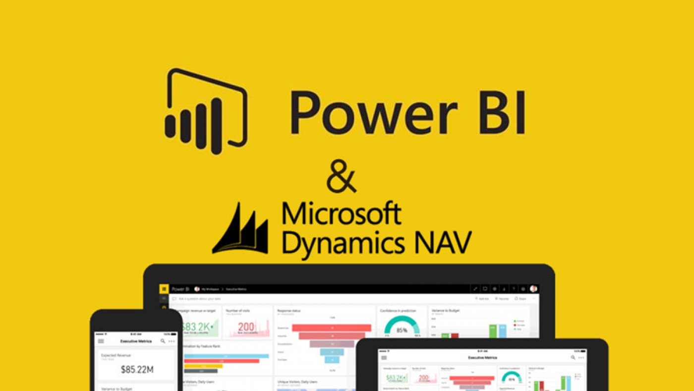 Power BI برای Dynamics NAV