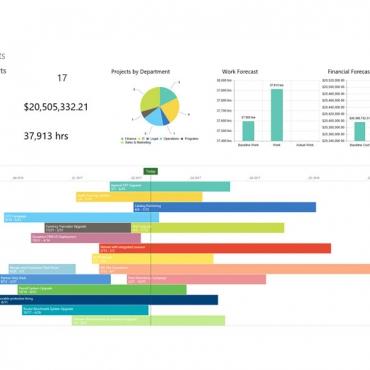 داشبوردهای مدیریتی و گزارشات EPM